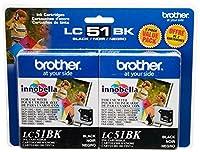 LC51 ブラックインク・プリンター・カートリッジ(2個パック) ■並行輸入品■