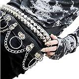 【Deorart ディオラート】BY2003 チェーン Oリング ベルト シドリング ロック パンク V系 ヴィジュアル系 ファッション メンズ レディース ユニセックス