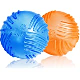 WeinaBingo 犬用 玩具ボール おもちゃ 耐久性 耐噛みトレーニングのおもちゃ インタラクティブおもちゃ 押し出…