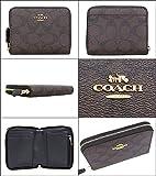 [コーチ] COACH 財布 (二つ折り財布) F30308 ブラウン×ブラック シグネチャー 二つ折り財布 メンズ レディース [アウトレット品] [ブランド] [並行輸入品]