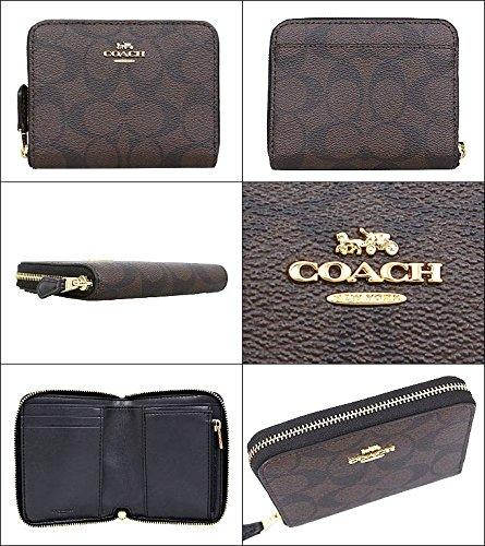 new style 7d132 60dc7 コーチ] COACH 財布 (二つ折り財布) F30308 ブラウン×ブラック ...