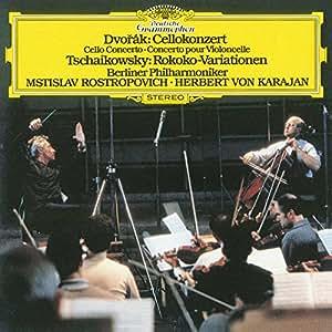 Dvorak: Cello Concerto; Tschaikowsky / Karajan, Rostropovich