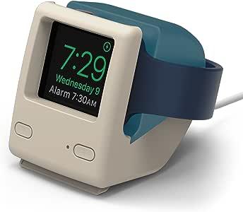 elago W4 STAND Apple Watch 充電 スタンド Series 3 / Series 2 / series 1 対応 シリコン スタンド [ アップルウォッチ 38mm / 42mm 各種対応 ] アクアブルー