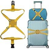 スーツケースベルト バッグとめるベルト ずり落ち防止 ゴム 調整可能 軽量 持ち便利 旅行 出張