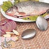 Kicode キッチンバスルームバークリーニングツールステンレス鋼楕円形形状臭い石鹸ハンド臭いリムーバー