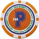 [ジャックバニー バイ パーリーゲイツ] マーカー ( カジノ チップ ) / 262-7984400 [ 定番 ] ゴルフ 軽量 262-7984400 150 オレンジ