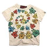 crazy gogo!! クレイジーサークルTシャツ ネップカスタード 5(110-115)
