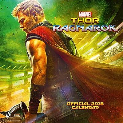Thor: Ragnarok Official 2018 Calendar - Square Wall Format (Calendar 2018)