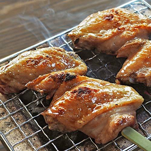 焼き鳥 塩 手羽先 いかだ串 3本 国産鶏 BBQ バーベキュー おつまみ 惣菜 家飲み 肉 グリル ギフト 生 チルド 冷凍