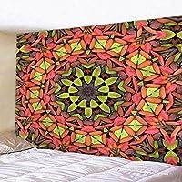 ftmxy インドMan羅タペストリー用寝室ヨガマットレス壁掛けヒッピータペストリーホーム装飾テーブルクロスボヘミアンタペストリー-230X170CM