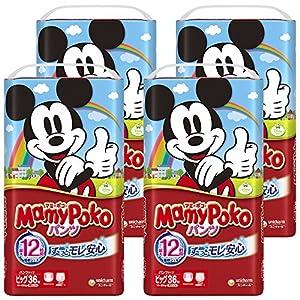 【Amazon.co.jp限定】マミーポコ パンツ ビッグ (12~22kg) 144枚(36枚×4)【ケース販売】