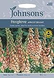 JOFL 英国ジョンソンシード Digitalis Apricot Delight ジギタリス(フォックスグローブ)アプリコット・デライト