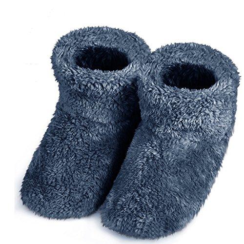 スリッパ 北欧 ル ームブーツ 暖かい もこもこ 可愛い 靴 おしゃれ あったか 防寒 ボアブーツ 静音 シューズ 【Lサイズ 24.5-27.0cm】洗濯可 室内履き用 男女兼用
