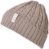 CHARM FUROFU ニット帽 [ フリーサイズ / 全5色展開 ] ケーブル ビーニー ワッチ帽子