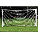 サッカー ゴール ポストネット 練習用 フットボールネット 柔軟 耐衝撃 軽量 インストール簡単 子供 少年 室内 屋外 アウトドアトレーニング 交換ネット(6X4FT)