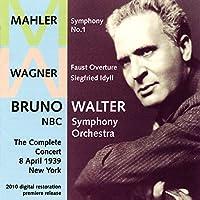 「ブルーノ・ワルター/NBC交響楽団1939年ライヴ」