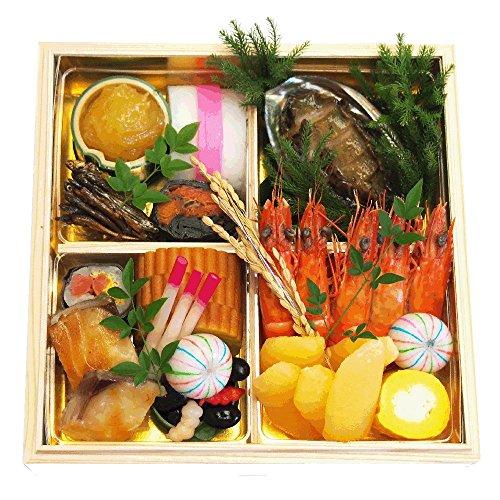 ニューオータニイン東京 2018年 ホテルおせち料理 「特撰和洋中木箱三段重」 12月31日お届け 冷蔵 4~5人前