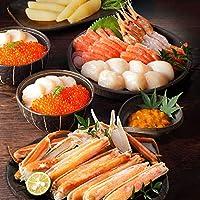島の人 北海道 豪華 蟹付き 海鮮 7点 セット [宴(うたげ)] お中元 ギフト 内祝い 贈答