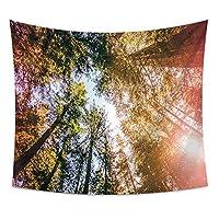 SfHx 空小枝ジャングルシリーズホームデコレーションタペストリー壁掛け壁装飾ビーチタオル毛布 (Style : 2)