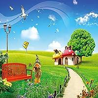 Natureテーマビデオスタジオ背景コンピュータ印刷写真背景写真バックドロップCP _ g-068