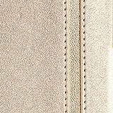 iPhone8 ケース iphone7ケース,Fyy [RFIDブロッキング] 100%手作り 良質PUレザー 軽量 薄型 横開き 手帳型 保護ケース カードポケット付き スタンド機能 マグネット式 スマホケース スマートフォンケース iPhone 8/7 用 ゴールド