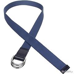 Webbing +D Belt B2365: Lihgt Navy / Navy