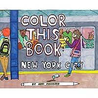 クロニクルブックス 塗り絵 ニューヨーク 9781452117331