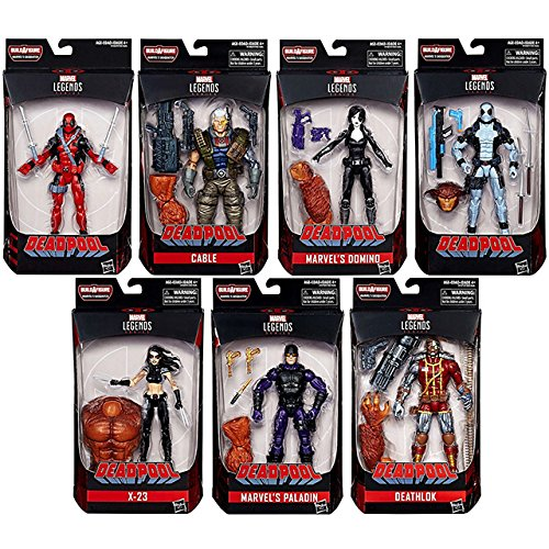 "Cable Marvel Legends Deadpool Sasquatch series 2018 6/"" loose action figure"
