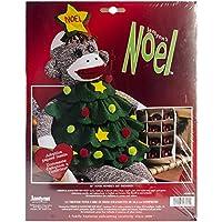 "Noel Holiday Sock Monkey Kit-21"" Long (並行輸入品)"