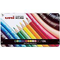 三菱鉛筆 色鉛筆 880 12色 K88012CP