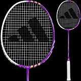 adidas バドミントン ラケット F100紫