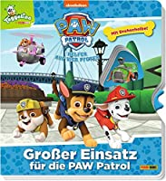 PAW Patrol: Grosser Einsatz fuer die Paw Patrol: Pappbilderbuch mit Drehscheibe