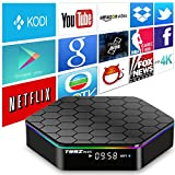 AKASO T95Z PLUS アンドロイド TV ボックス 4K KODIプリインストールAndroid 6.0 Amlogic S912 8コア 2G/16G 2.4G/5GデュアルWIFIバンド1000M LAN Google スマート TVチューナー ブルートゥース4.0搭載3Dストリーミングメディアプレーヤー