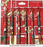 USJ 公式 商品 スヌーピー ボールペン 6本セット クリスマス