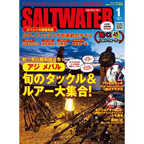 SALT WATER(ソルトウォーター) 2017年 01 月号 [雑誌]