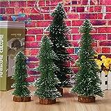 KISENG ミニクリスマスツリーホームウェディング装飾用品木小さな松(30cm)