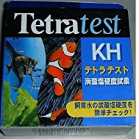 テトラテスト 炭酸塩硬度試薬 KH 淡水・海水用
