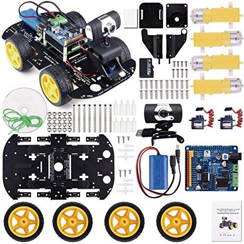 Kuman ロボットカー Raspberry Pi用 日本語...