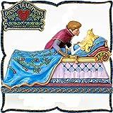 ディズニー プリンセス 木彫り調フィギュア オーロラ姫とフィリップ王子 (眠れる森の美女) 「キス」 ディズニー・トラディション