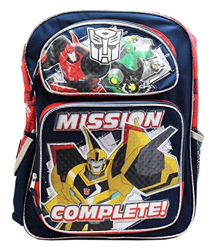 トランスフォーマーMission Complete Full Size Children 'sバックパック( 16in )