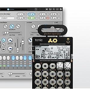Teenage Engineering ポケットオペレーター&ソフトシンセ PO-32 & microtonic bundle 無限に創造する、本格的なドラム・マシン【正規輸入品】