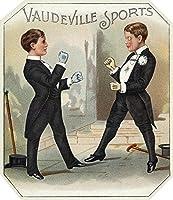 Vaudevilleスポーツブランドシガーボックスラベル 12 x 18 Art Print LANT-27388-12x18