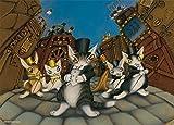 500ピース ジグソーパズル わちふぃーるど 革の街のミュージカル(38x53cm)