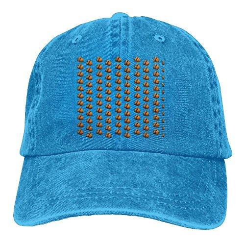 大人 デニム キャップ種実類 ナッツ 今季最新 スポーツ キャップ 大人気 紫外線対策 日よけ 小顔効果 プリント付き 無地 ブルー