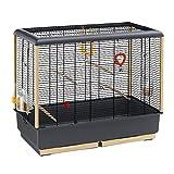 ファープラスト 鳥かご ピアノ 5 ブラック PIANO 5 BLACK 鳥籠 ゲージ フルセット カナリア セキセイインコ 小型鳥用