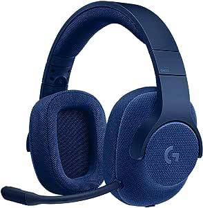 Logicool G ゲーミングヘッドセット G433BL ブルー Dolby 7.1ch ノイズキャンセリング マイク 付き PC PS4 Switch 3.5mm usb 軽量 G433 国内正規品 2年間メーカー保証