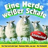 Eine Herde Weisser Schafe