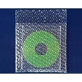 ボックスバンク プチプチ梱包袋(エアキャップ・エアークッション) CDサイズ 1000枚セット 強度アップ材質d40 KF03