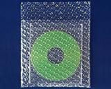 ボックスバンク プチプチ 梱包袋 CDサイズ 1000枚セット 強度アップ材質d40 KF03
