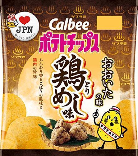カルビー ポテトチップス 鶏めし味 55g×12袋 (大分県)